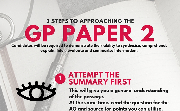 A levels GP Tuition General Paper tips QE Quintessential Education Singapore