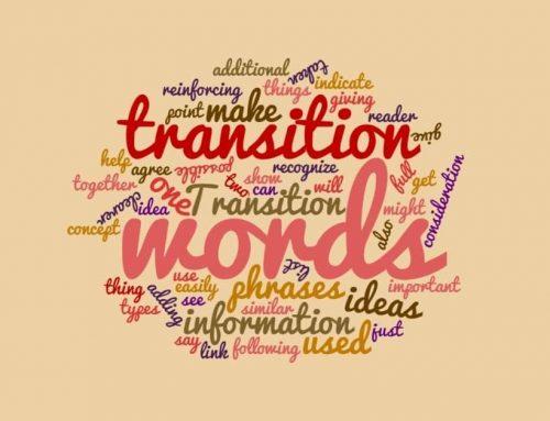Transition Words: IB Essay Scoring Tips